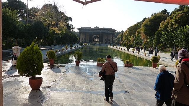 Gartenpalast im iranischen Isfahan