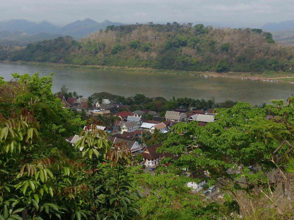Luang Prabang zwischen Mekong und Nam Khan
