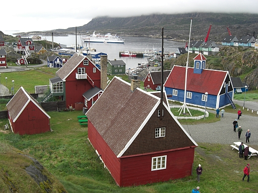 Sisimiut auf Grönland