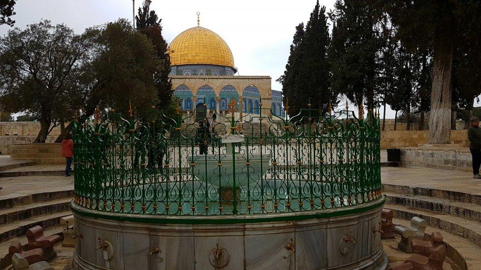 Felsendom auf dem Tempelberg in Jerusalem