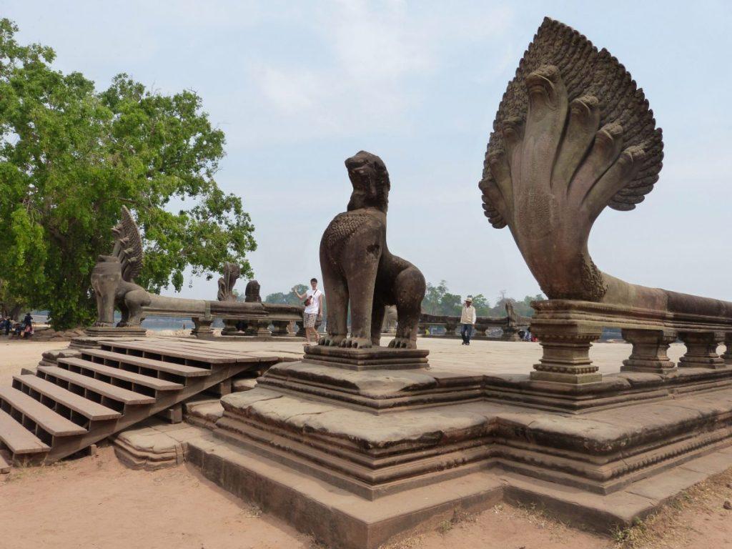 Fabelwesen in Angkor Wat, Kambodscha