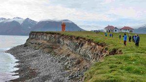Insel vor Islands Nordküste