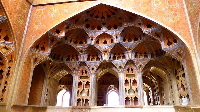 Ali Qapu Palast in Isfahan, Iran