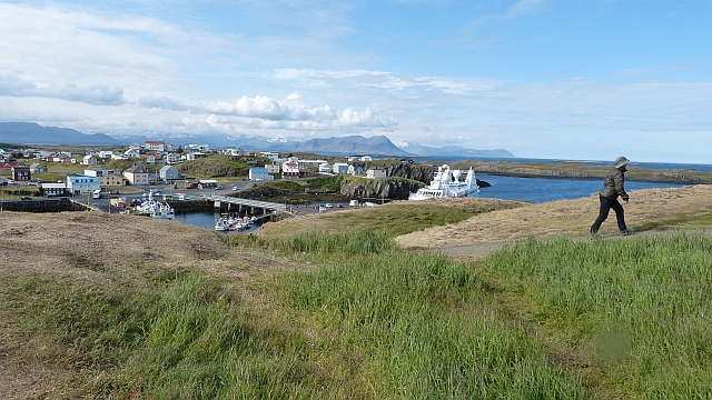 Landschaftsaufnahme in Island