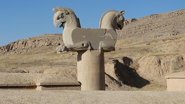 Statue von Persepolis im Iran