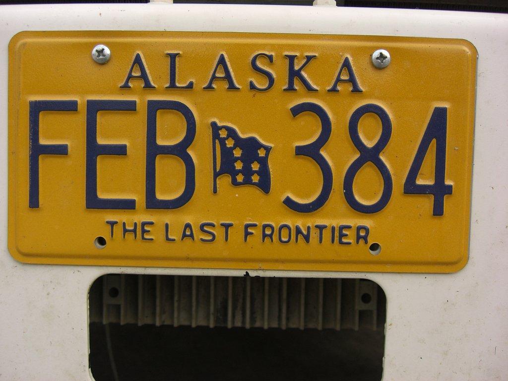 Autoschild Alaska
