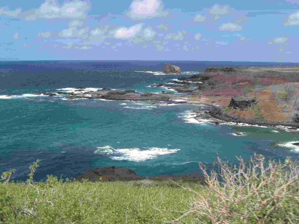 die Insel Ua Huka, Marquesas, Pazifik.