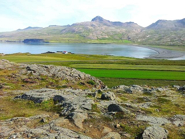 Landschaft des Elfentals auf Island