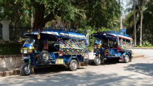 Transportmittel in Laos
