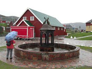 Springbrunnen in Qaqortoq