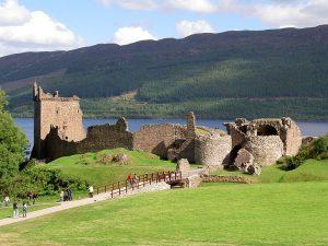 Urquhart Castle am Loch Ness