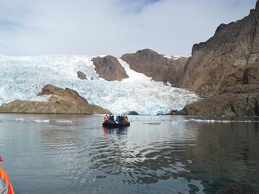 Zodiactour in Grönland