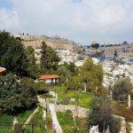 Temeplberg in Jerusalem im Hahnenschreikirche