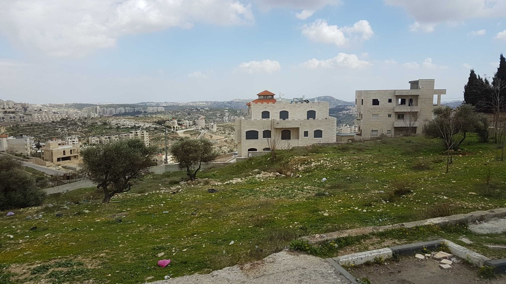 Blick auf Bethlehem in den Palästinensergebieten
