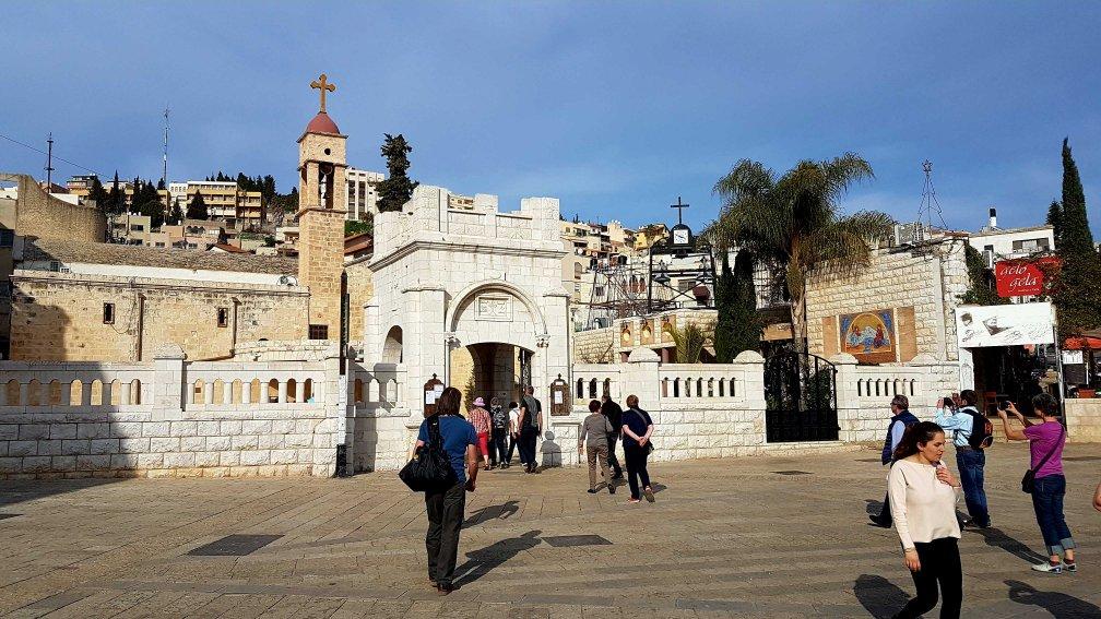 Blick auf Nazareth in Jerusalem