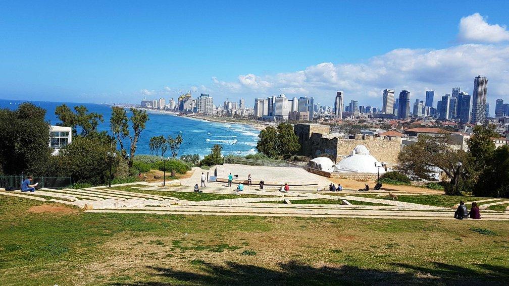 Skyline von Tel Aviv, Israel