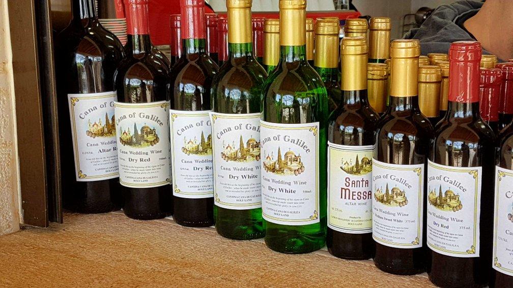 Wein von den Golanhöhen in Israel