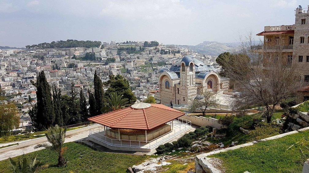 Die Hahnenschreikirche in Jerusalem, Israel