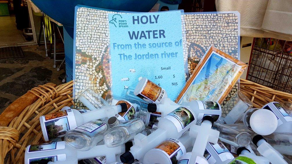 Flasche mit Jordanwasser aus Israel