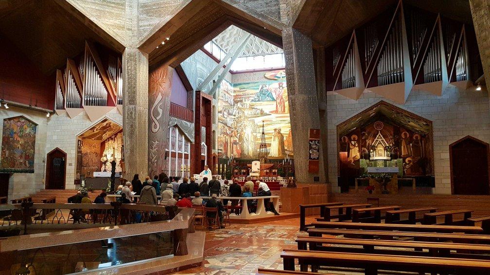 katholische Verkündigungskirche in Nazareth, Israel