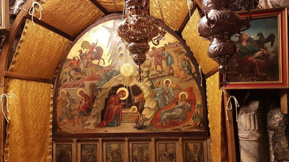 Geburtskirche in Bethlehem in den Palästinensergebieten