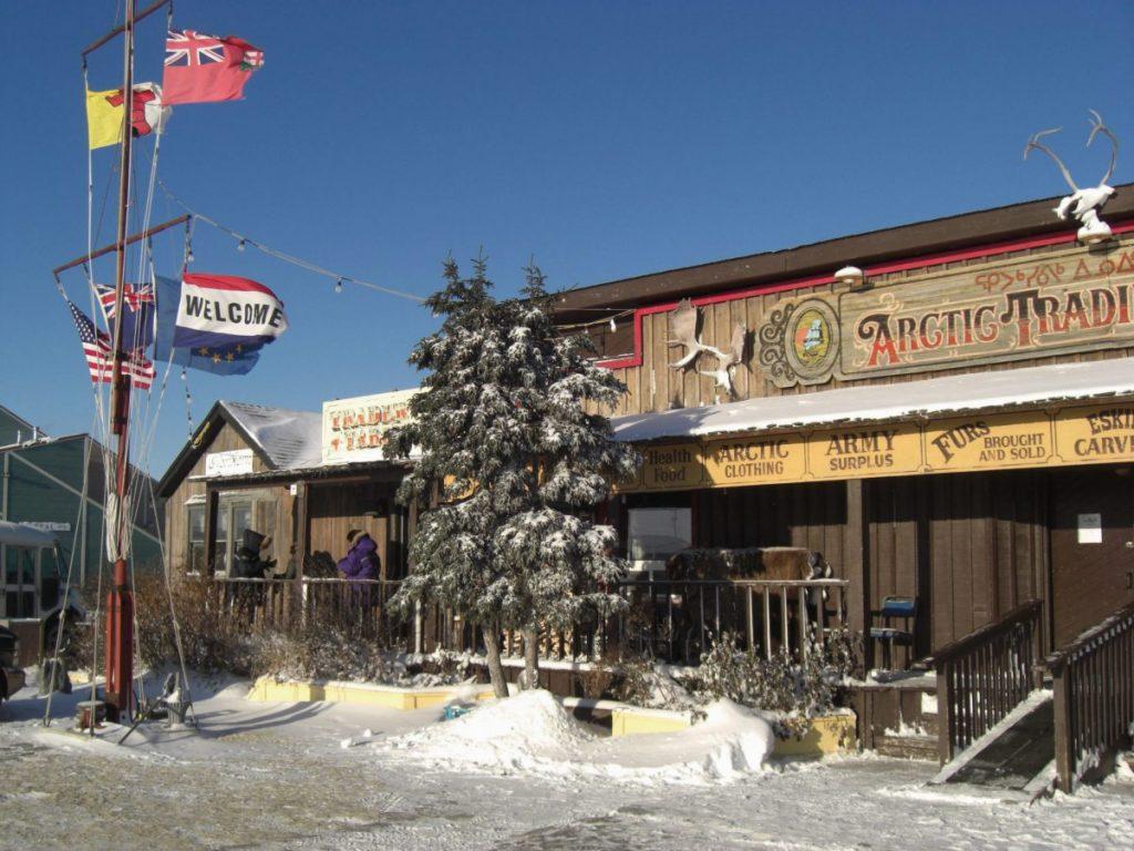 Frontier-Feeling in Churchill, einem Ort in der kanadischen Provinz Manitoba.