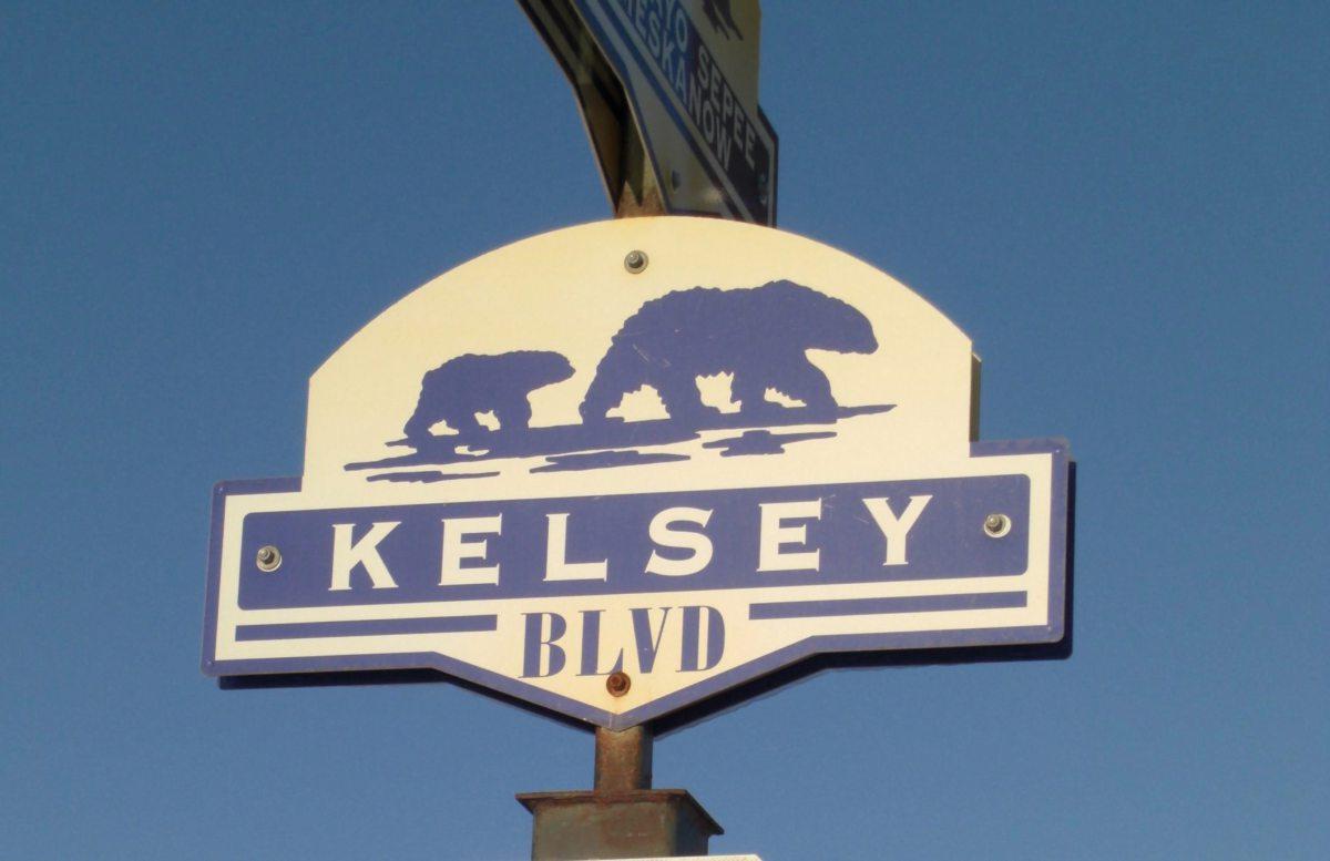 Der Kelseyboulevard in Churchill, Kanada