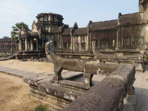 der Tempel Angkor Wat in Kambodscha