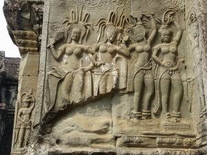 Apsara im Tempel von Angkor Wat