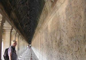 Die Galerie von Angkor Wat