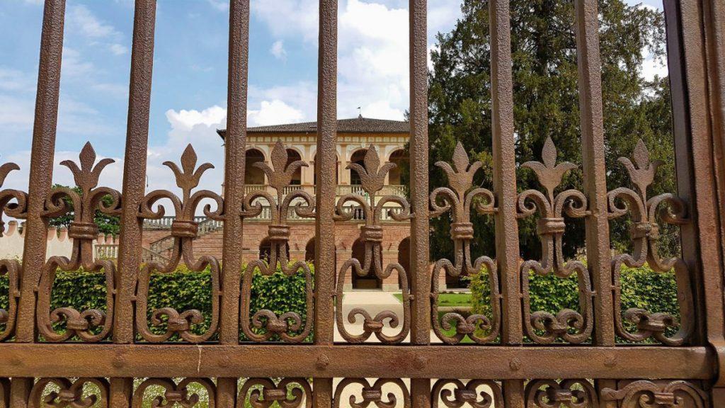 Die Villa dei Viscovi in den Euganeischen Hügeln