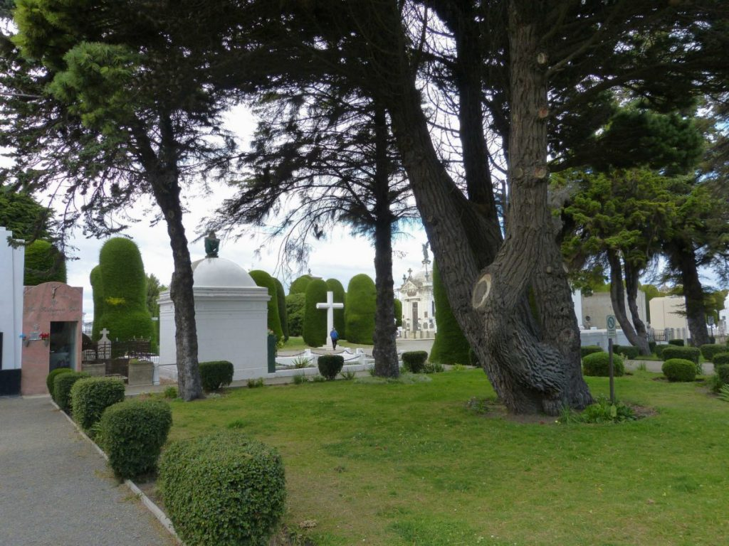 Friedhof von Punta Arenas in Chile