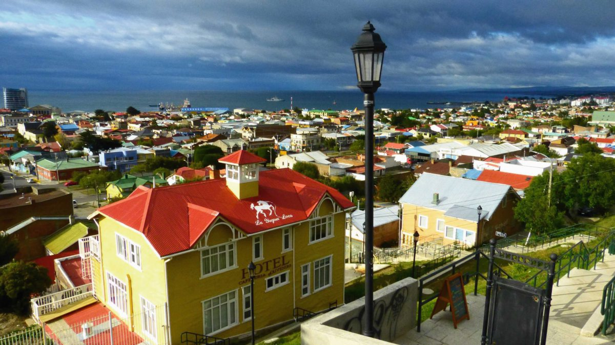 Punta Arenas in Chile