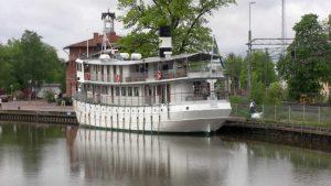 """Die MS """"Diana"""" auf dem Götakanal"""