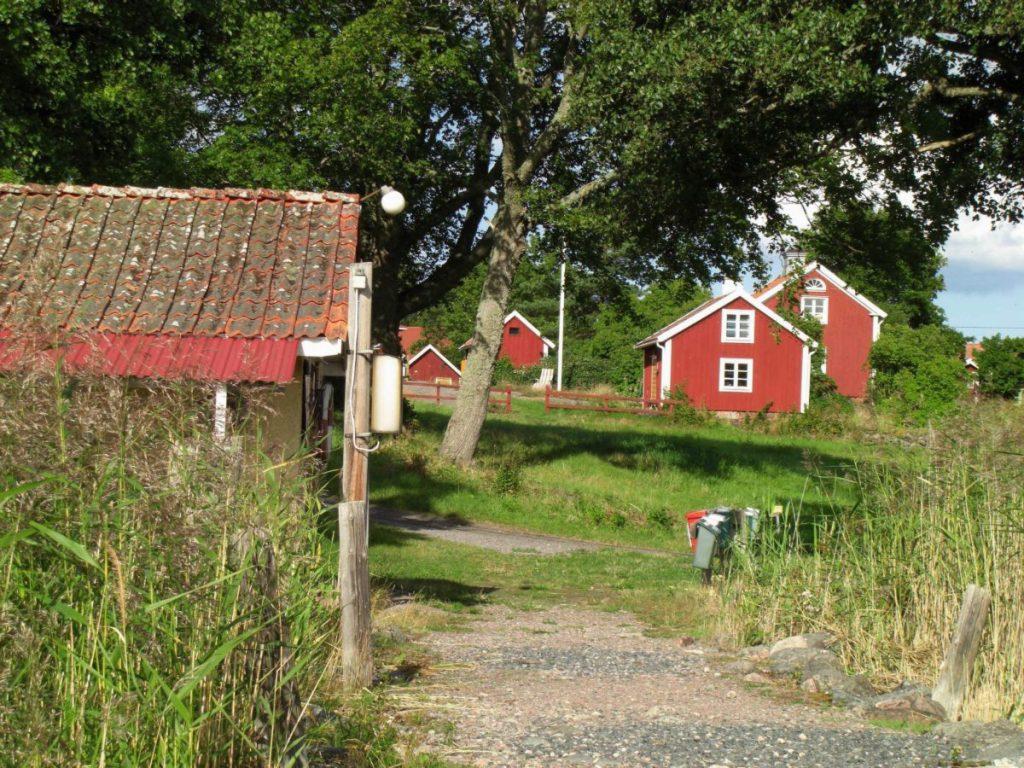 Die schwedische Insel Hasselö im Schärengarten von Västervik