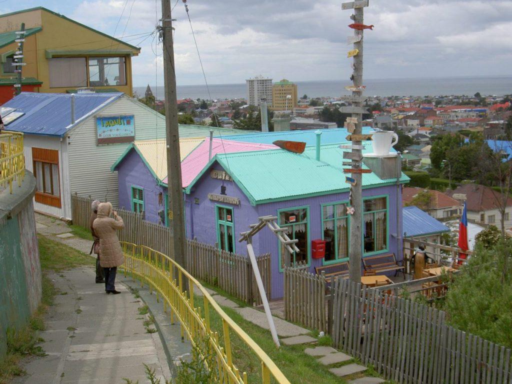Blick auf Punta Arenas im wilden Süden Chiles