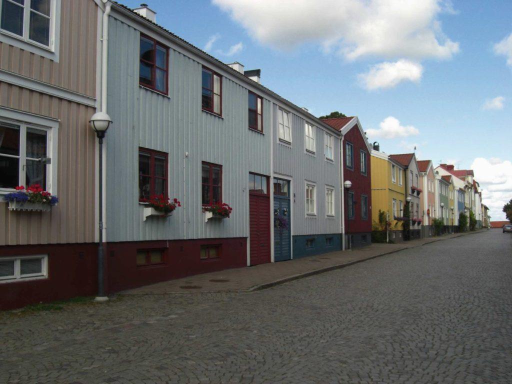 Innenstadt von Västervik