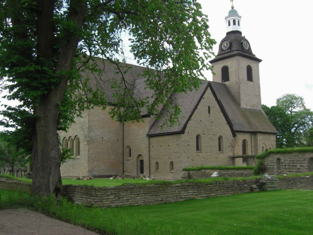 Das Kloster Vreta am Götakanal unweit von Linköping, Schweden