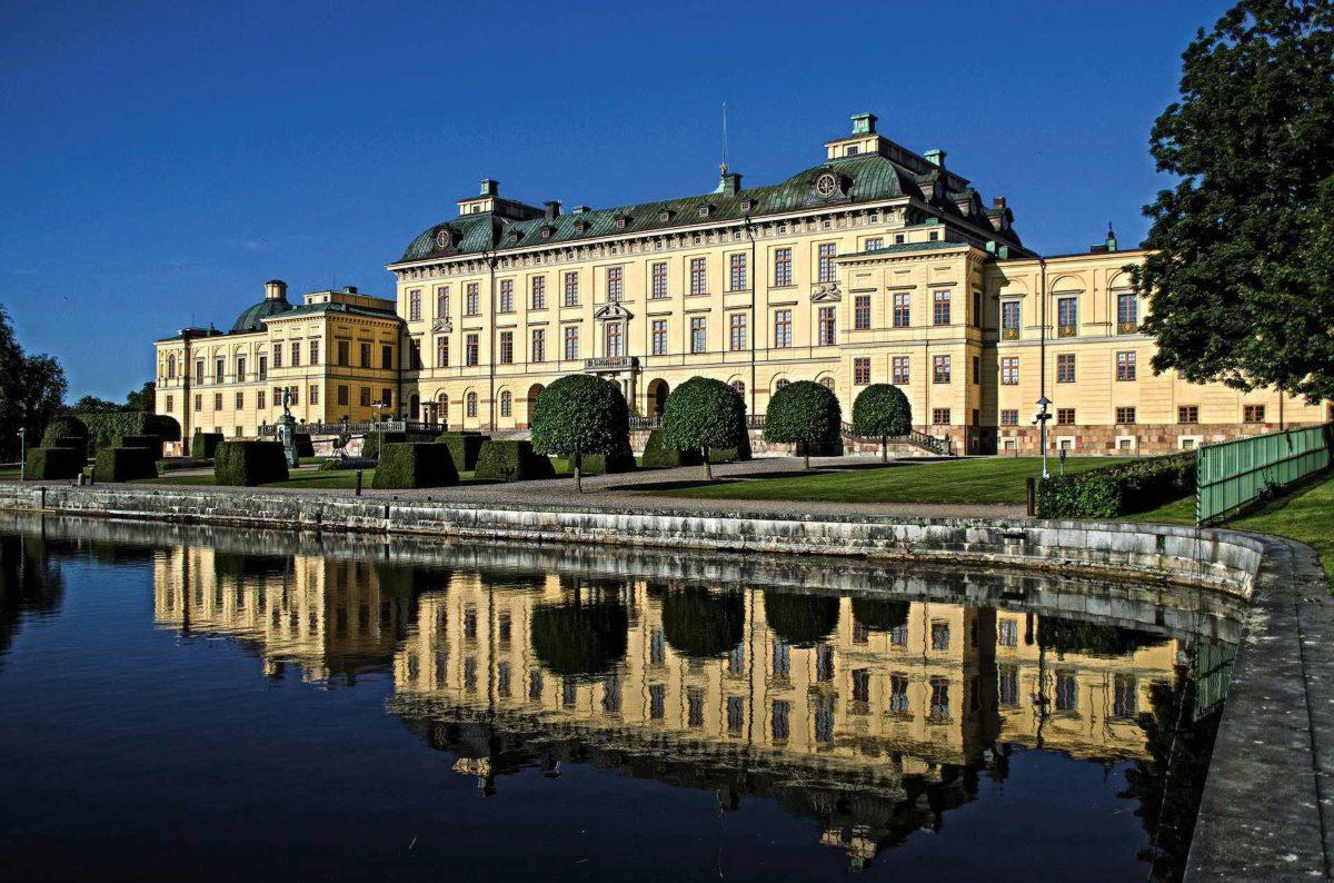 Schloss Drottningholm bei Stockholm, Schweden