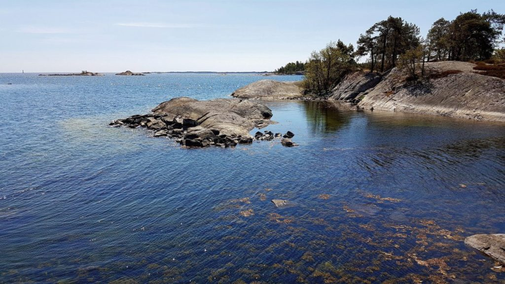 Schärengarten von Västervik an der Ostküste von Schweden
