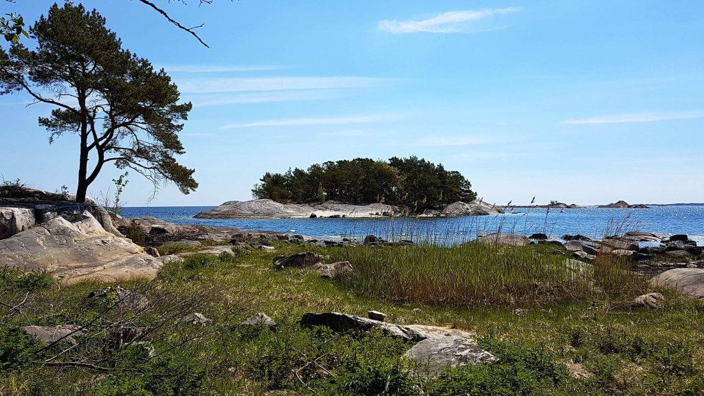 Schärengarten vor Västervik in Schweden