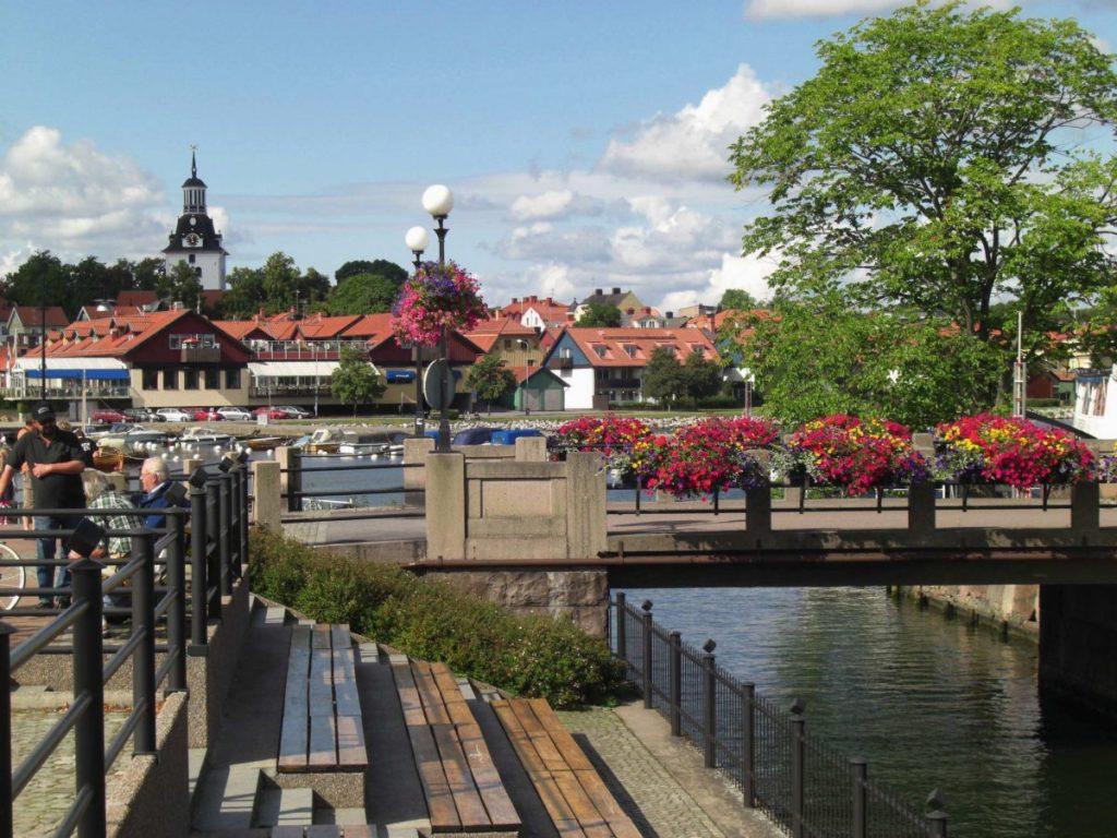 Västervik an Schwedens Ostseeküste