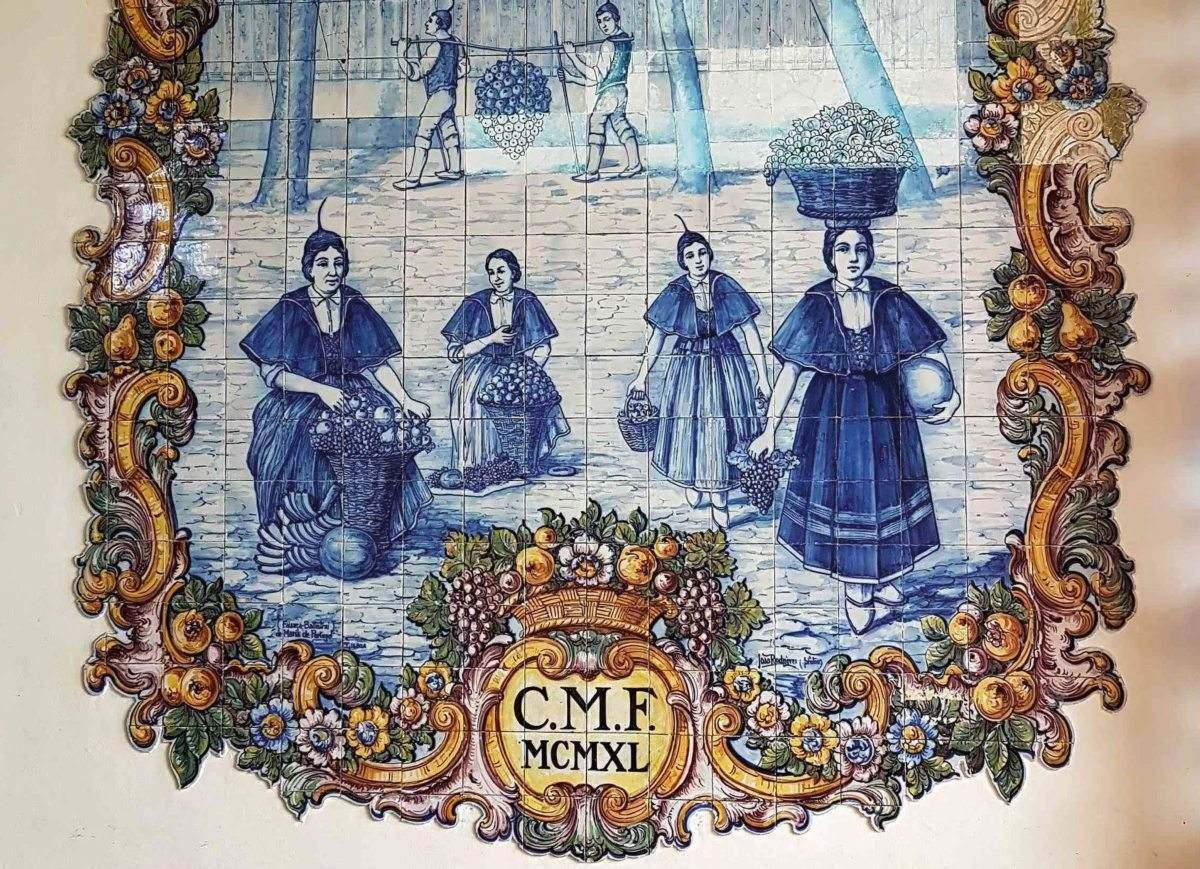 Azulejos aus Madeira