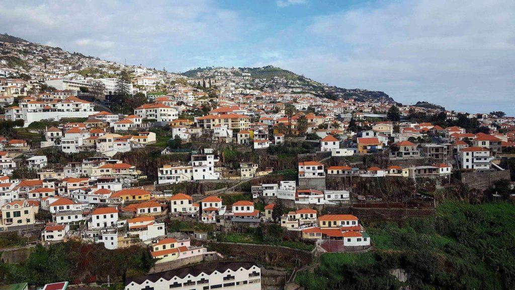 Madeiras Hauptstadt Funchal, Portugal