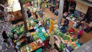Die Markthalle von Funchal, Madeira