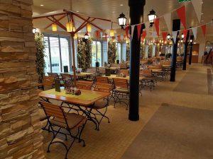 Das Restaurant Brauhaus auf der AIDAPerla
