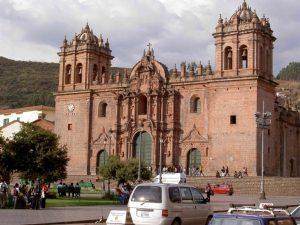 Die Kathedrale von Cusco in Peru
