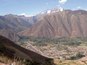 Landeanflug auf Cusco in Peru