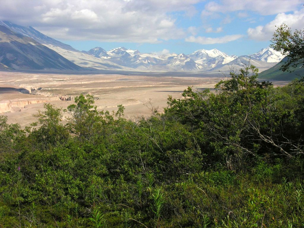 Landschaft im Nationalpark Katmai in Alaska