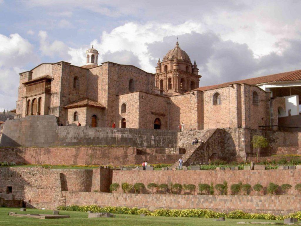 Blick auf Cusco in Peru